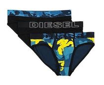 DIESEL Stripes Camouflage Street Style Cotton Logo Briefs
