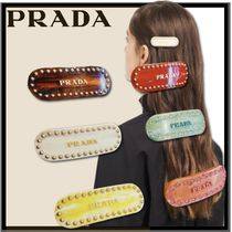 PRADA Casual Style Elegant Style Hair Accessories