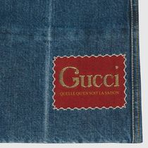 GUCCI More Jeans Marble Washed Denim Flare Pant 8