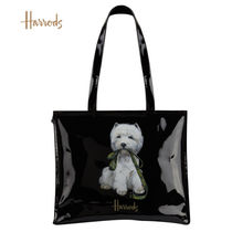 Harrods Casual Style Unisex Canvas A4 Other Animal Patterns