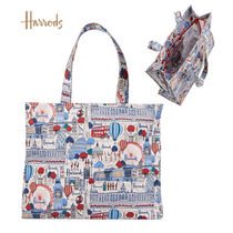 Harrods Casual Style A4 Logo Shoulder Bags
