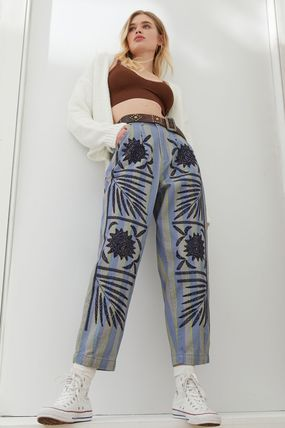 Casual Style Office Style Elegant Style Formal Style  Pants