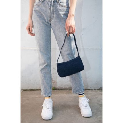 Casual Style Denim Plain Party Style Office Style