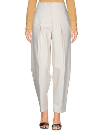 Blended Fabrics Plain Pants