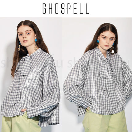 Gingham Other Plaid Patterns Casual Style Street Style