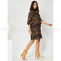 GHOSPELL Dresses Short Casual Style Street Style U-Neck Other Animal Patterns 4