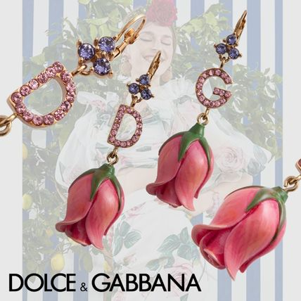 Dolce & Gabbana Costume Jewelry Casual Style Flower Party Style