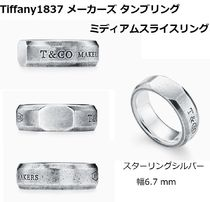 Tiffany & Co TIFFANY 1837 Unisex Collaboration Silver Rings