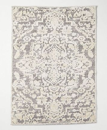 Handmade Black & White Persian Style Carpets & Rugs