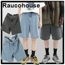 Raucohouse Casual Style Unisex Street Style Shorts
