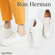 Ron Herman Platform Round Toe Rubber Sole Casual Style Street Style