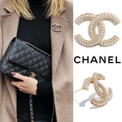CHANEL Formal Style  Bridal Costume Jewelry Casual Style