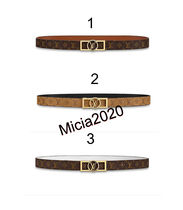 Louis Vuitton Monogram Casual Style Plain Leather Belts