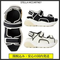 Stella McCartney Platform Casual Style Bi-color Plain Sport Sandals