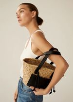 MANGO 2WAY Straw Bags