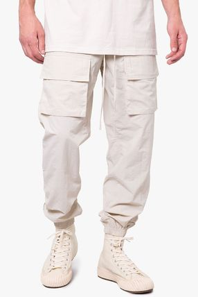 Tapered Pants Nylon Street Style Logo Tapered Pants