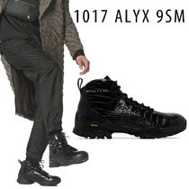 ALYX Mountain Boots Plain Leather Logo Outdoor Boots