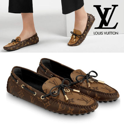 Louis Vuitton MONOGRAM Monogram Leather Loafer & Moccasin Shoes