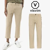 VISVIM Plain Cotton Cropped Pants