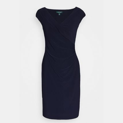 Sleeveless Plain Medium Office Style Elegant Style