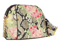 Betsey Johnson Flower Patterns Casual Style Faux Fur Office Style