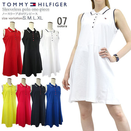 Casual Style Tight A-line Sleeveless Flared Street Style