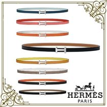 HERMES Kelly Casual Style Plain Leather Party Style Office Style
