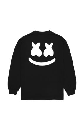 Marshmello Long Sleeve Street Style Long Sleeves Cotton Long Sleeve T-shirt 3
