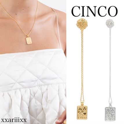 Casual Style Silver Necklaces & Pendants