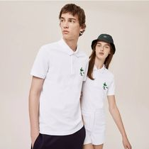LACOSTE Casual Style Unisex Collaboration Plain