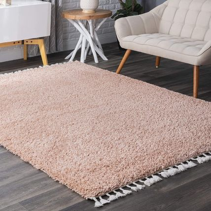 Plain Fringes Kitchen Rugs Outdoor Mats & Rugs