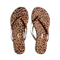 TKEES NUDES Leopard Patterns Rubber Sole Casual Style