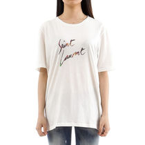 Saint Laurent Cotton T-Shirts