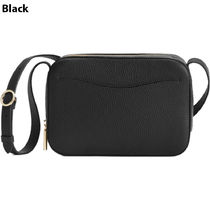 CUYANA Casual Style Plain Leather Elegant Style Crossbody