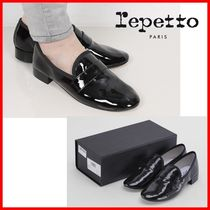 repetto Plain Office Style Formal Style  Loafer & Moccasin Shoes