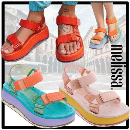Casual Style Unisex Street Style Shower Shoes Flat Sandals