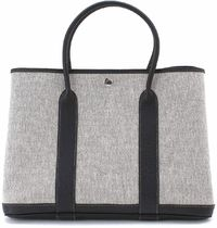 HERMES Garden Party Casual Style Canvas Street Style A4 Plain Leather