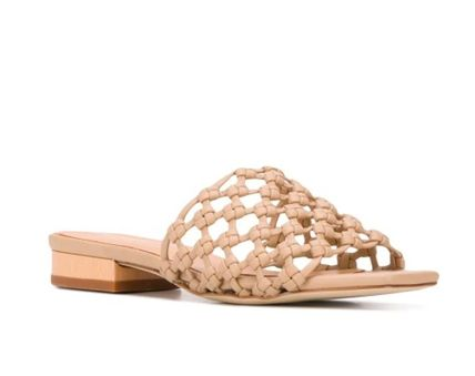 Leather Mules Sandals