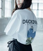 DUCKDIVE More T-Shirts Unisex Street Style Short Sleeves T-Shirts 15