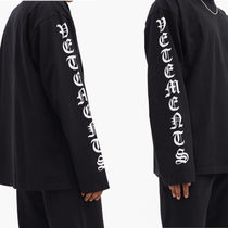 VETEMENTS Crew Neck Street Style Long Sleeves Cotton Oversized