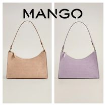 MANGO Casual Style 2WAY Other Animal Patterns Party Style