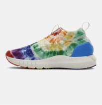 UNDER ARMOUR Tropical Patterns Unisex Street Style Tie-dye Dad Sneakers