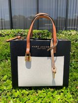 MARC JACOBS Casual Style Plain Leather Crossbody Formal Style  Totes