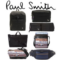 Paul Smith Other Plaid Patterns Unisex Nylon Street Style Bag in Bag A4