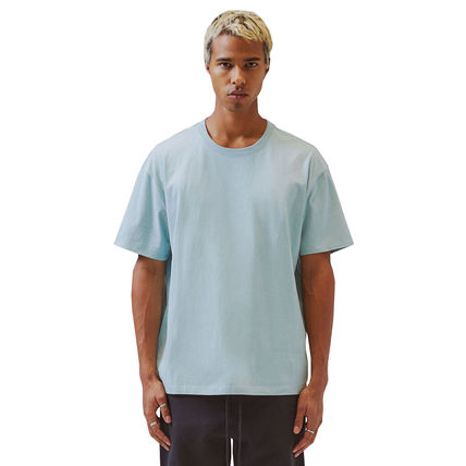 FEAR OF GOD Crew Neck Crew Neck Unisex Street Style Cotton Short Sleeves Logo 4