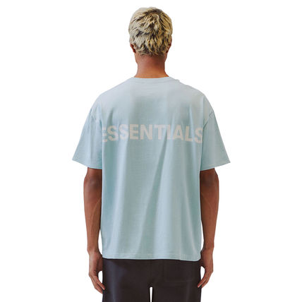 FEAR OF GOD Crew Neck Crew Neck Unisex Street Style Cotton Short Sleeves Logo 7