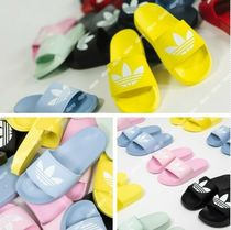 adidas ADILETTE Unisex Street Style Shower Shoes Flat Sandals