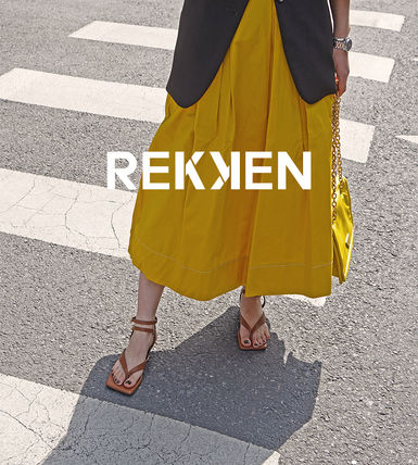 Open Toe Casual Style Studded Street Style Plain Leather