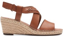 Clarks Casual Style Leather Sport Sandals Flat Sandals