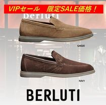 Berluti Loafers Leather Logo Loafers & Slip-ons